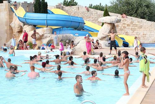 piscine du camping 4 étoiles à Saint Jean de Monts