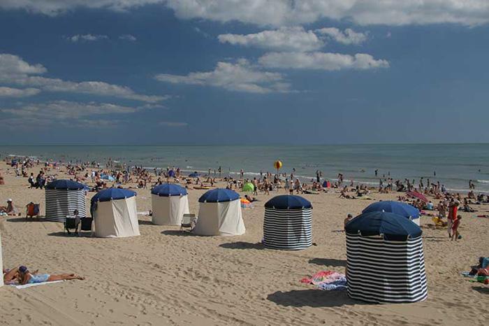 La plage de Saint Jean de Monts