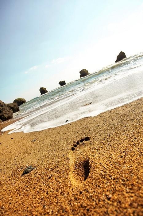 location au camping situé au bord de la mer