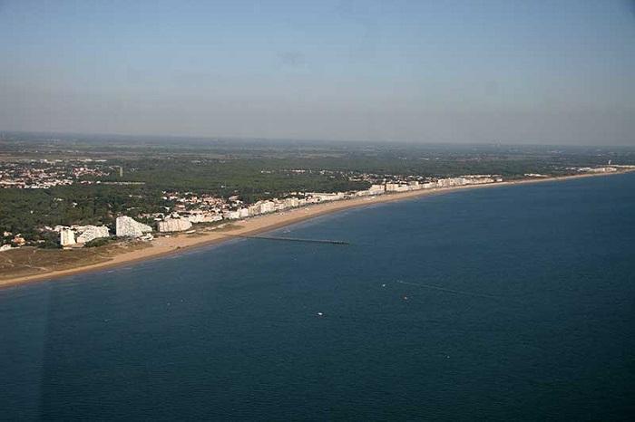 survole des plages de Vendée