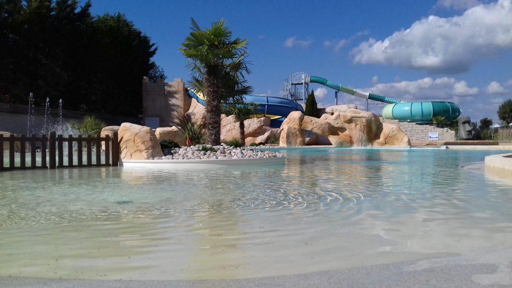 L'espage aquatique de l'un des plus beaux campings de Vendée