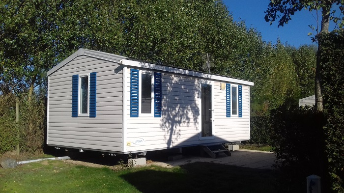 Mobil-home en location au camping