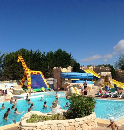 parc aquatique du camping en Vendée