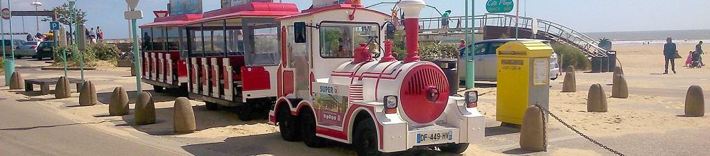 petit train de Saint Jean de Monts
