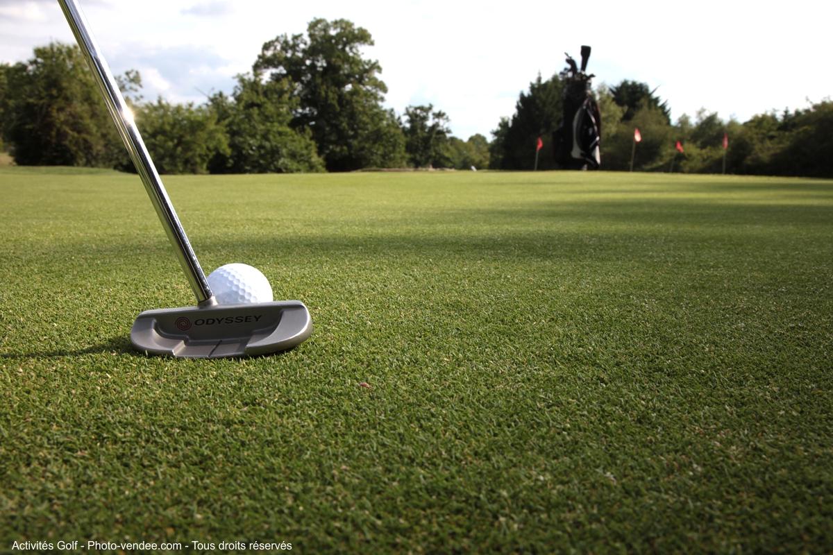 golf près du camping à Saint Jean de Monts