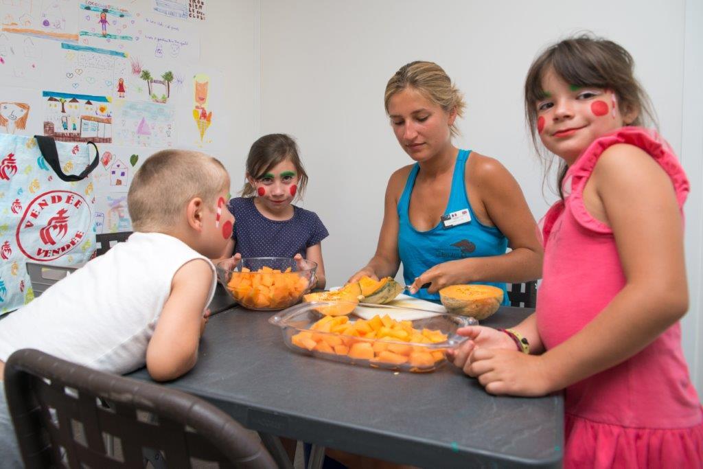 club enfants du camping à Saint Jean de Monts