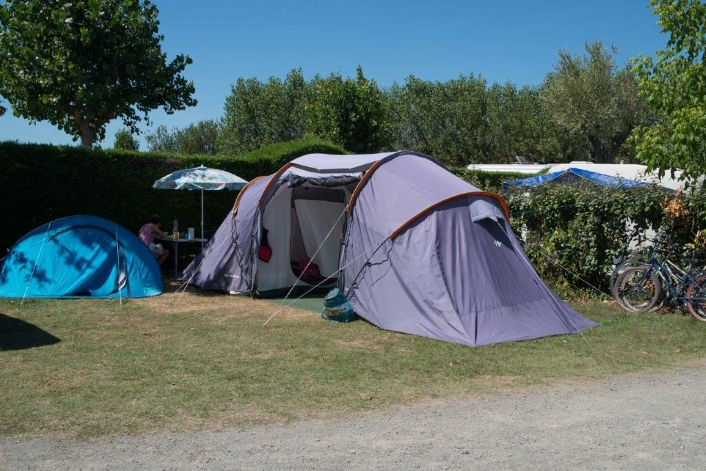 emplacement camping tente