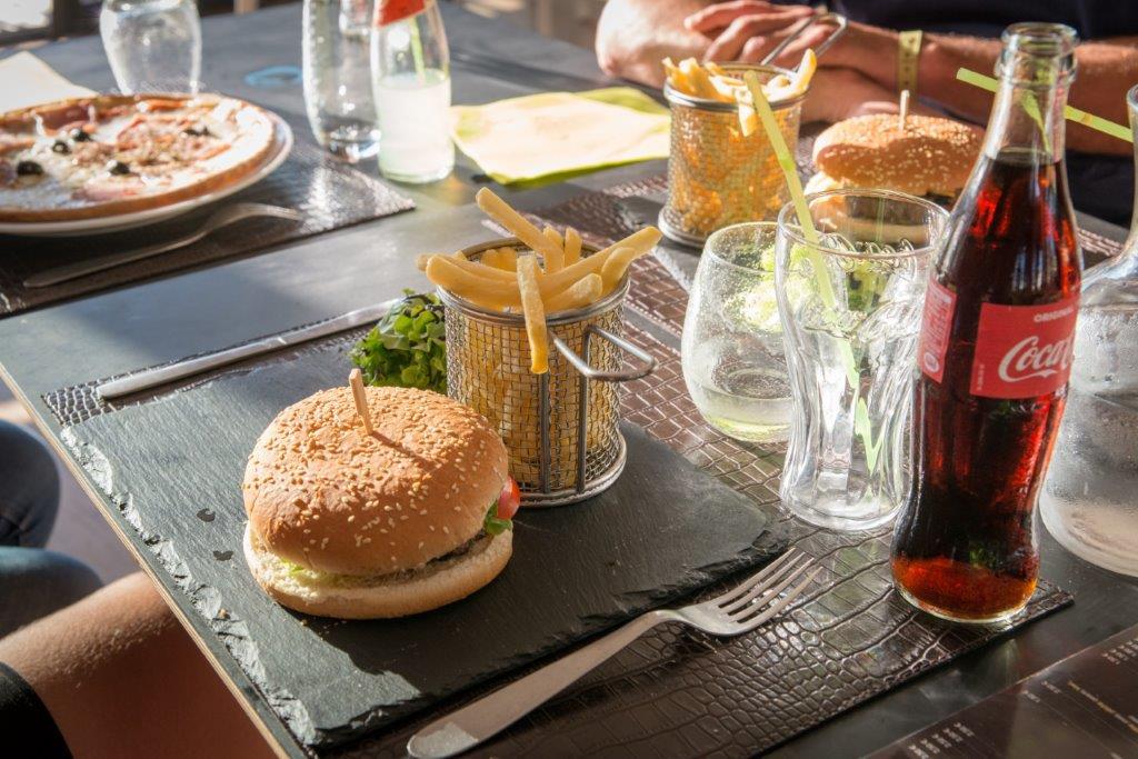 restaurant du camping - hamburger