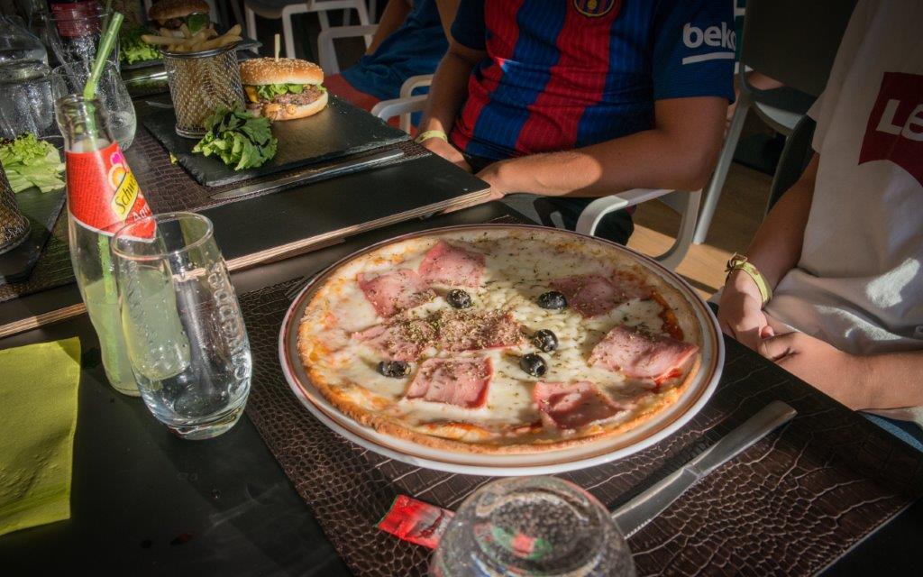 restaurant du camping - pizzas