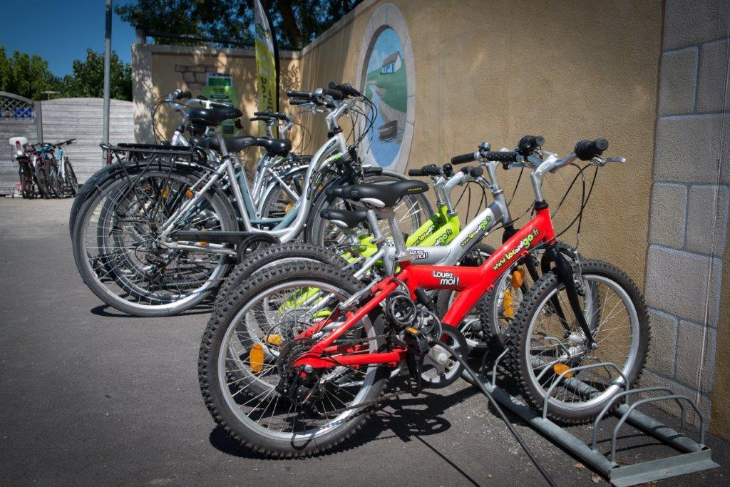 location de vélos au camping à Saint Jean de Monts