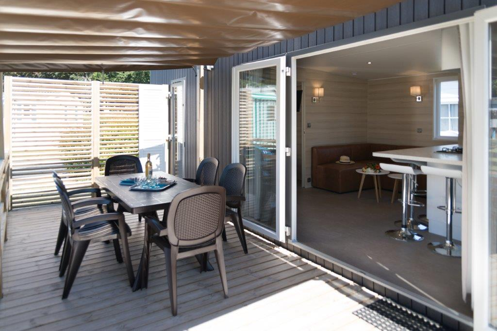 location mobil home terrasse