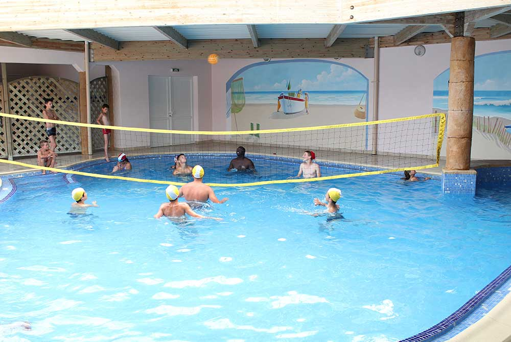 volley piscine couverte