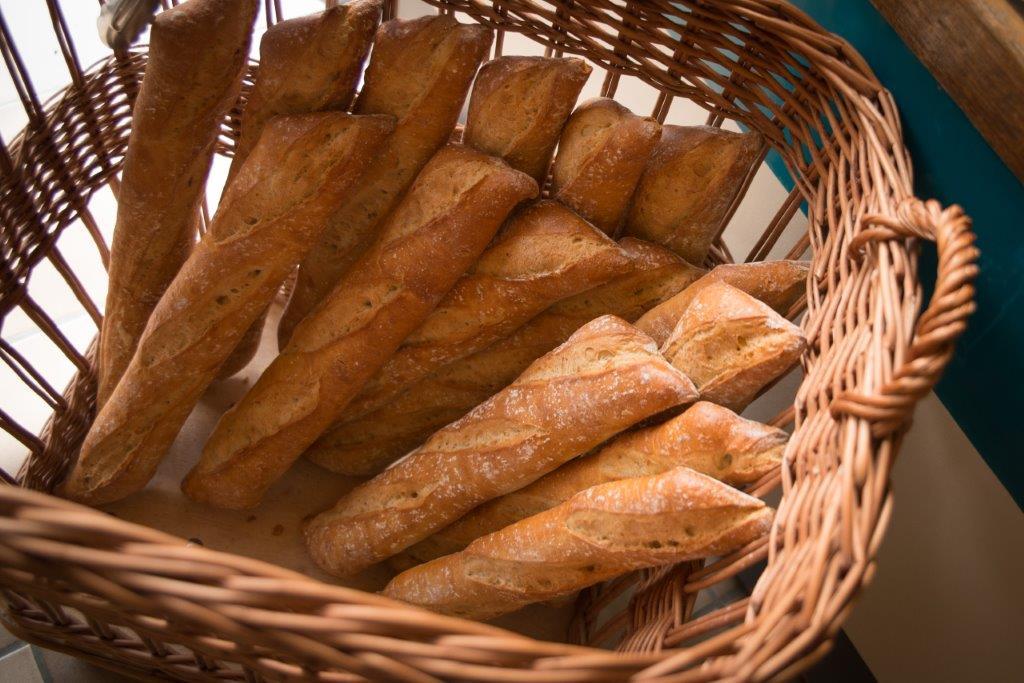 pain frais au camping à Saint Jean de Monts