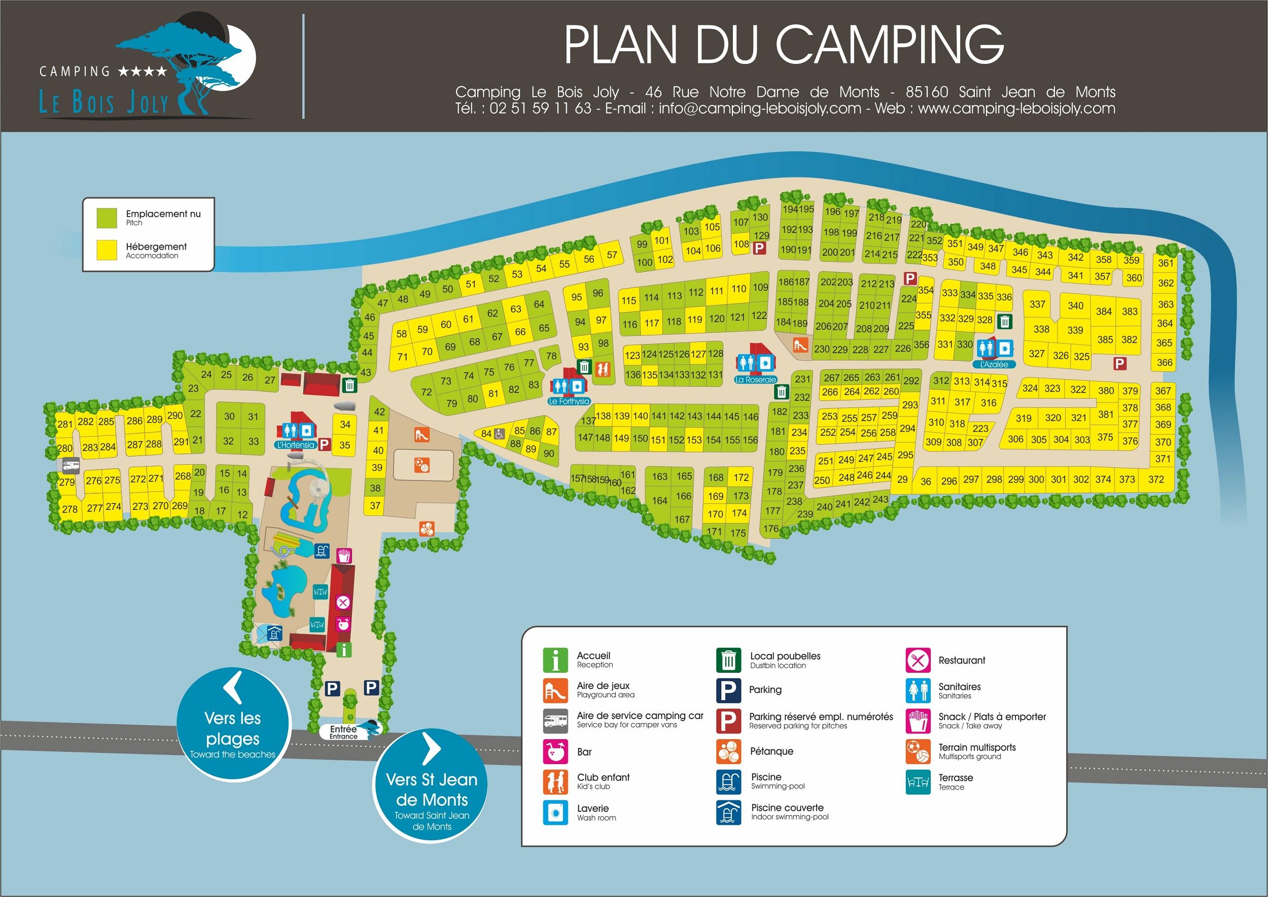 Campsite Le Bois Joly Home