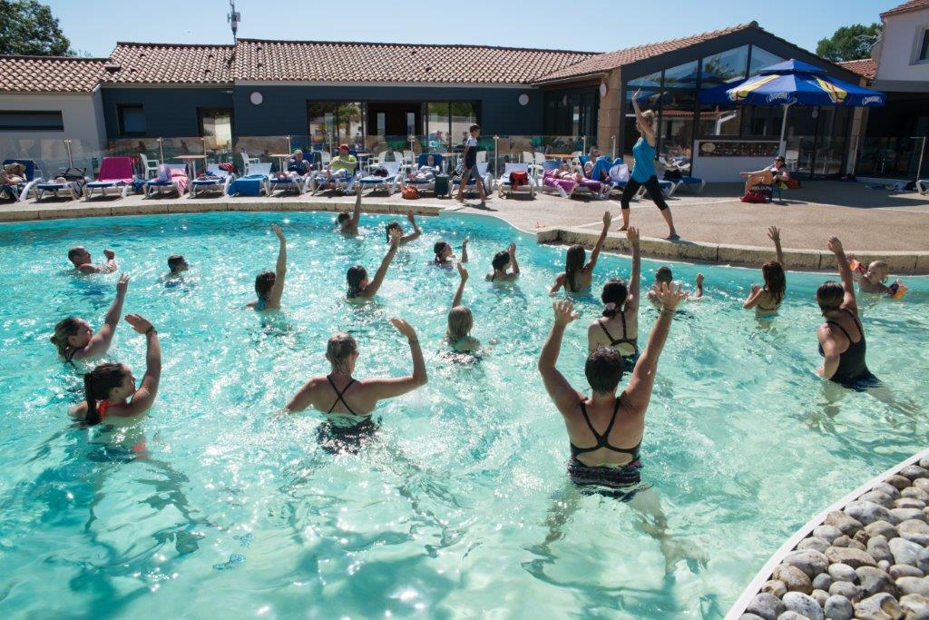 piscine du camping familial