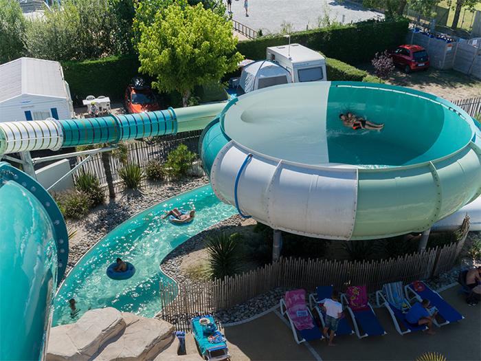 la piscine couverte du camping de St Jean de Monts