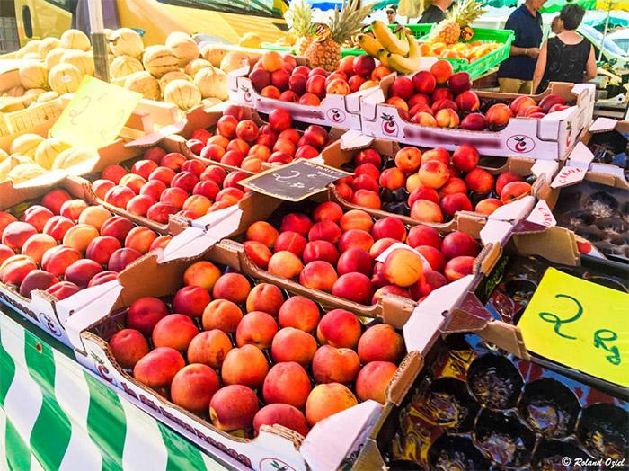 commerces et marchés de Saint Jean de Monts près du camping
