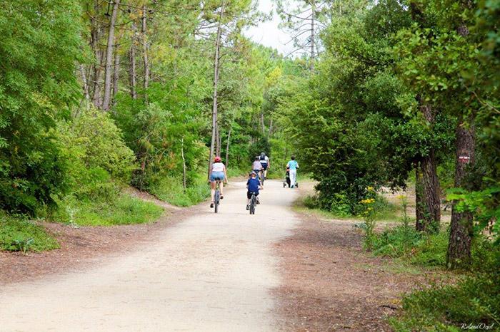 pistes cyclables pour plages et commerces à Saint Jean de Monts
