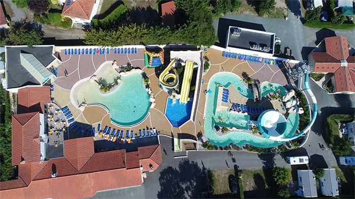 camping 4 étoiles avec parc aquatique à Saint Jean de Monts