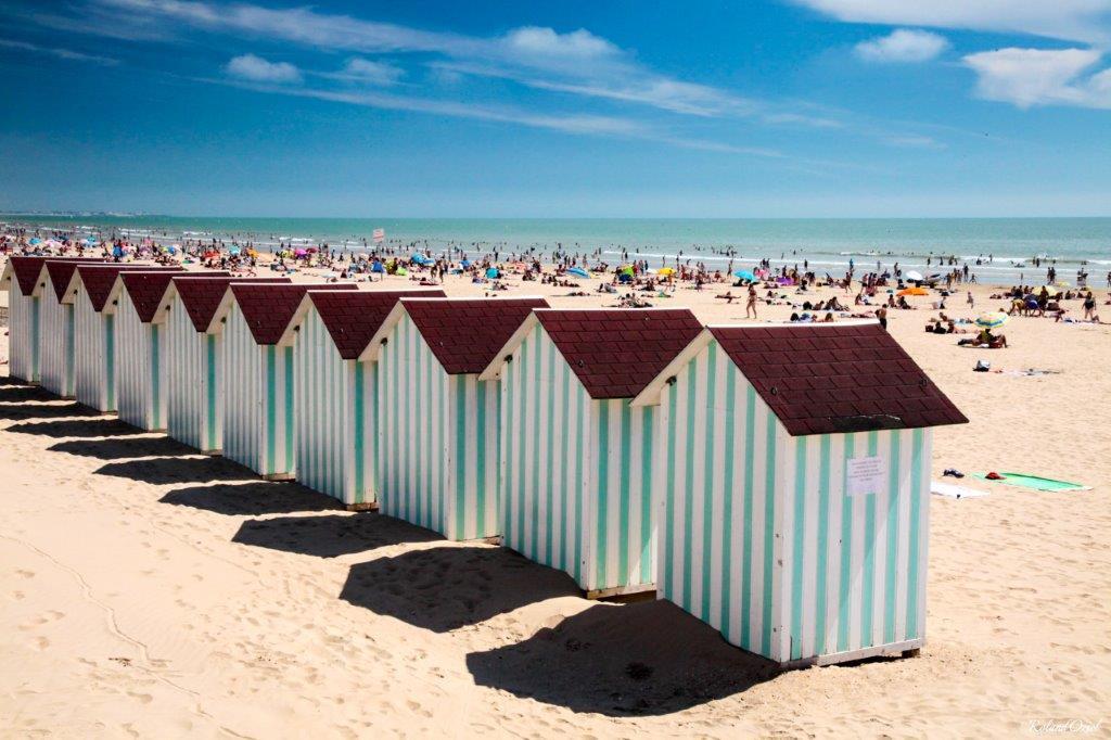 camping situé à deux pas des plages de sable fin