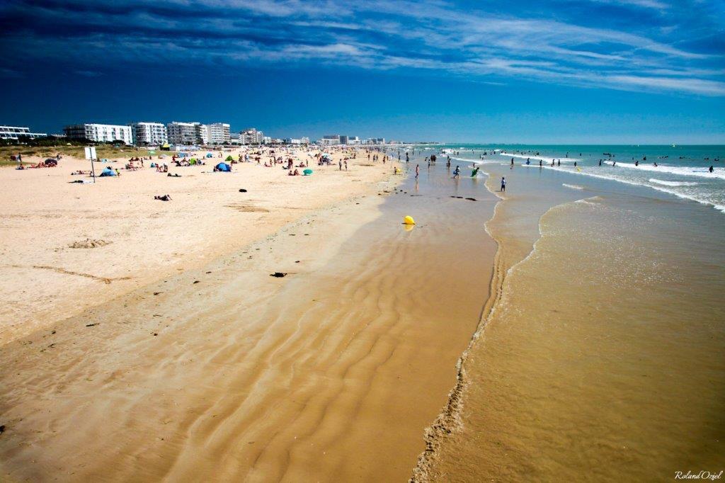plage de la côte atlantique