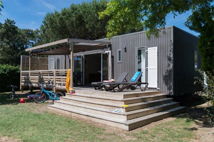 location avec parc aquatique camping Côte Atlantique