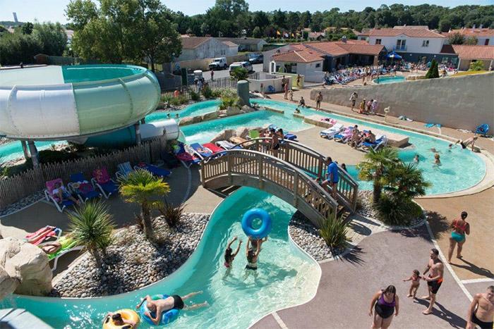 camping club avec espace aquatique Saint Jean de Monts